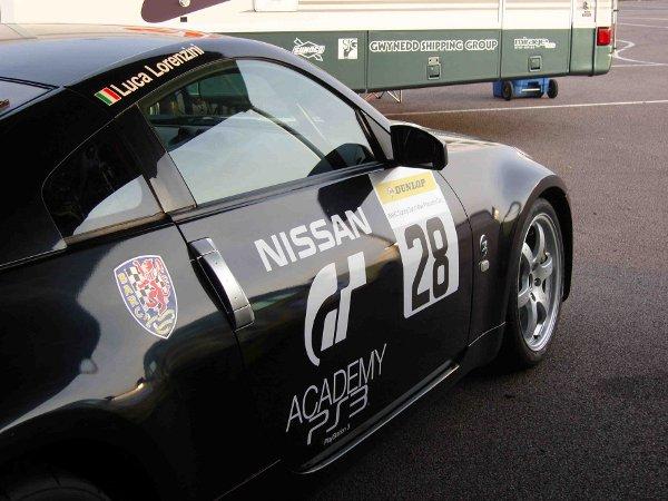 Luca Lorenzini - Nissan 350z - Rockingham circuit