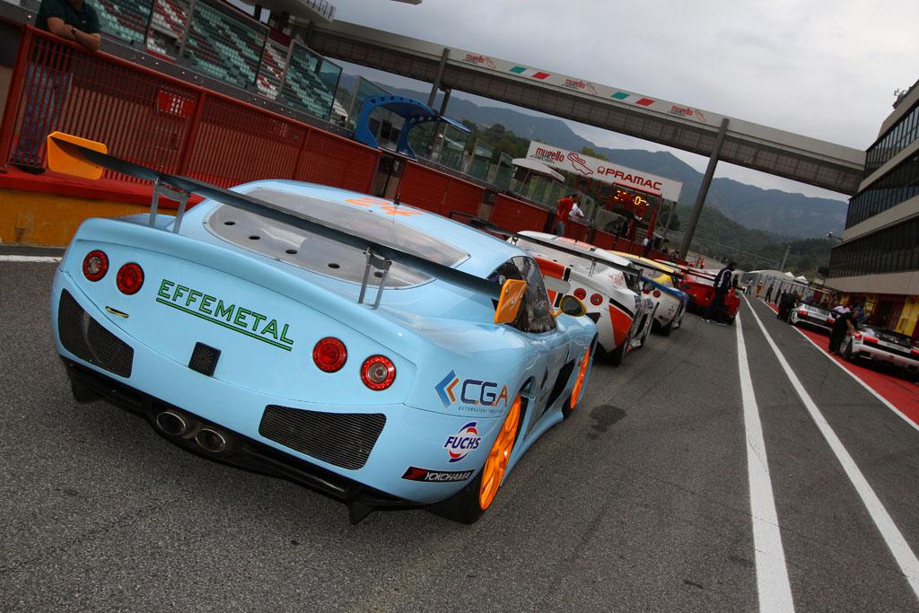 Luca Lorenzini al Mugello su Ginetta G50 Cup