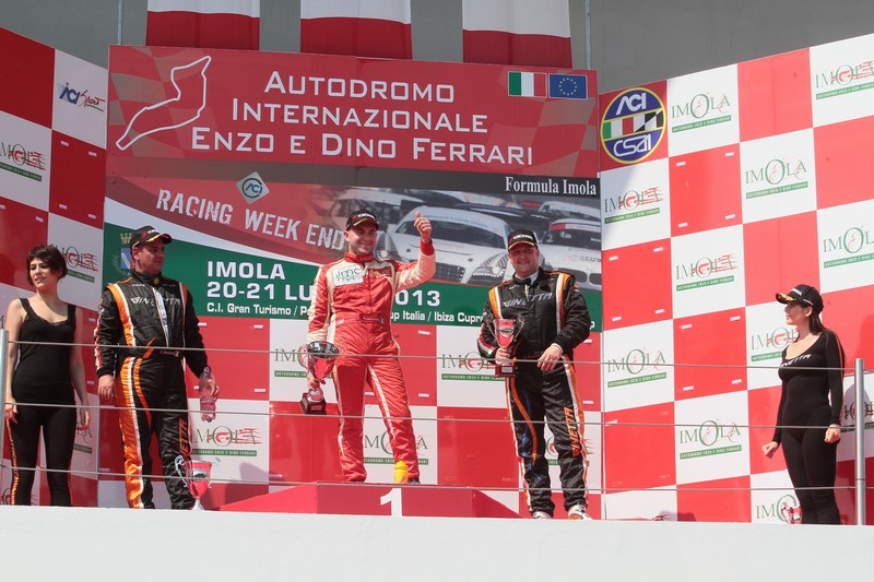 Giagua Luca Lorenzini vittoria podio Imola