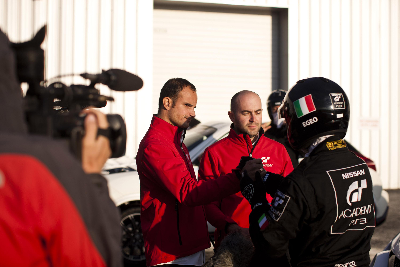 Giagua Luca Lorenzini GT Academy Race Camp 2013 Silverstone