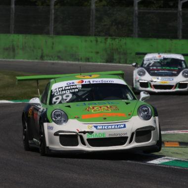 Un altro podio per Giagua in Porsche Carrera Cup Italia (Silver Cup)